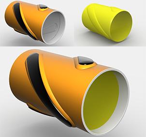Titan Steel Shell Composite Centralizer
