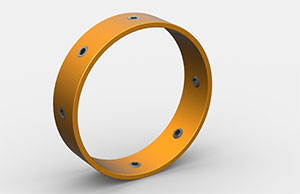 Titan Steel Stop Ring